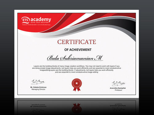 Certificate design in erode by rathi media advertising id 14604657491 certificate design thecheapjerseys Images