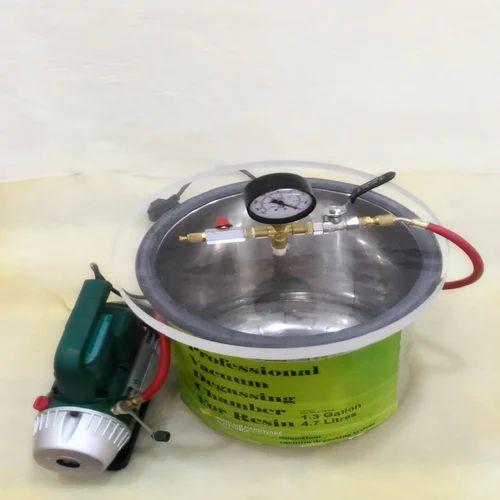 Vacuum Degassing Chamber DIY, BHF2015