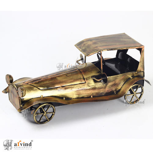 Iron Decorative Vintage Car
