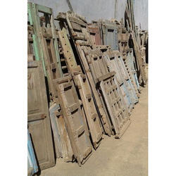 Rustic Wooden Windows Panels