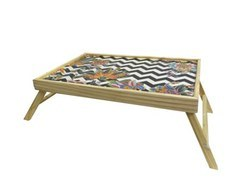 Custom MDF Design Wooden Folding Tea Table