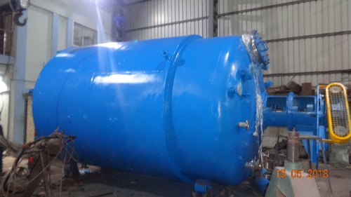 Jacket Reactor Vessel, Capacity: 1000-10000L And <1 KL