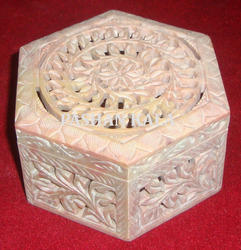 Antique Soapstone Boxes