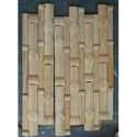 Teak Bamboo Sandstone Wall Cladding