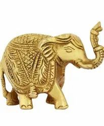 Brass Elephant Set