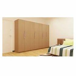 Classic Wooden Wardrobe, Height: 6.75 feet