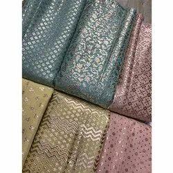 e45159cd7b731 Printed Silk Fabrics in Delhi, रेशम का प्रिंटेड ...