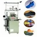 Automatic shoes upper socks knitting machine