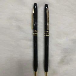 Black Metal Ballpoint Pen