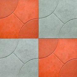 Matt Ceramic Car Parking Tiles