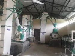 Semi Automatic Feed Plant