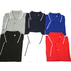 Plain Large And XL Mens Polo Neck T Shirt