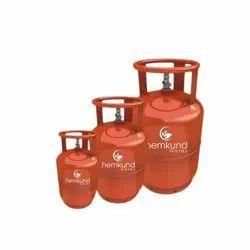 Hemkund Gases Iron适用于LPG气缸的Aera Wise经销型15公斤,17kg,33kg,用于工业,33.3 LTR水容量