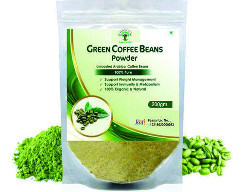 Aloecare Green Coffee Beans Powder Packaging Size 200 Gm Rs 225