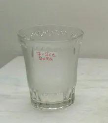 Transparent 250 ML Glass Tumbler