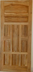 Finished A Grade African Teak Wood Door
