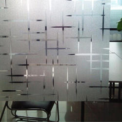 Transparent Designer Glass Film, Pack Size: 2 To 3 Feet