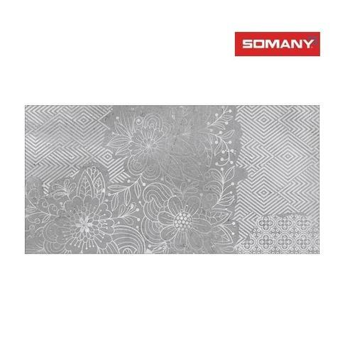 Somany Calypso Grey HL 01 Wall Tile, Size: 400 x 800 mm