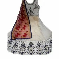 Party wear Embroidered Anarkali Suit