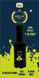 Kiwi Kick Carbonated Fruit Juice with Malt, Packaging Size: 200 mL