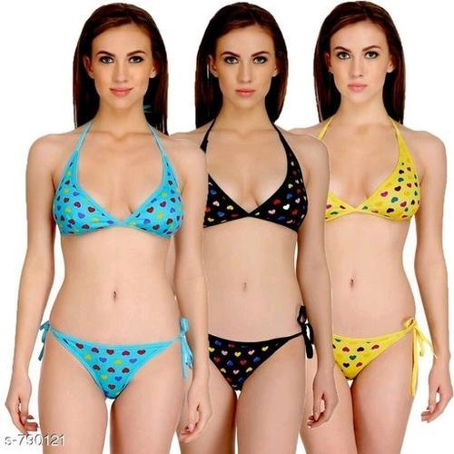 c332e31a40f DP Collections Extreme Micro Bikini Set Lingerie Bra Panty String Bikini  Womens Bikini Set Pack of