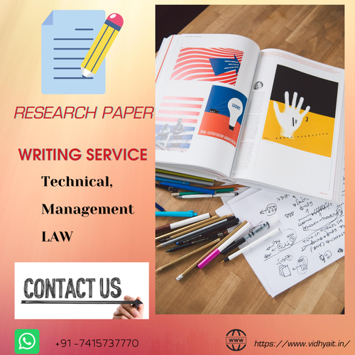 Research Paper Writing Services, Article Writing Service - Vidhya  Innovative Technology, Indore | ID: 20026678662