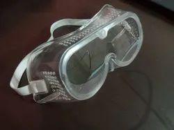 Plastic White safety goggle for ppe kit, Lens Type: Prescription