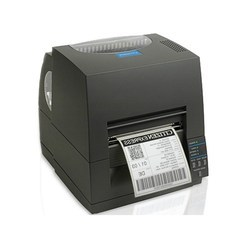 Thermal Printers Black Citizen Barcode Printer, Resolution: 300 DPI (12 dots/mm), Model Name/Number: CL-S631