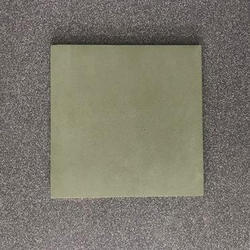 Plain Ceramic Tiles Green Tile, Size: 8 inches to 48 inches