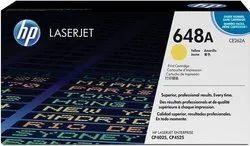 HP 648A Yellow Original LaserJet Toner Cartridge (CE262A)