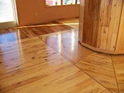Engineered Wooden Flooring Commercial Building Wooden Flooring Service