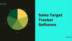 Sales Target Tracker Software