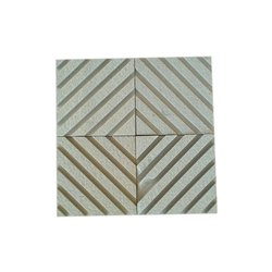 Cut-to-Size Mint Wall Designing Natural Sandstone, Thickness: 5-6mm