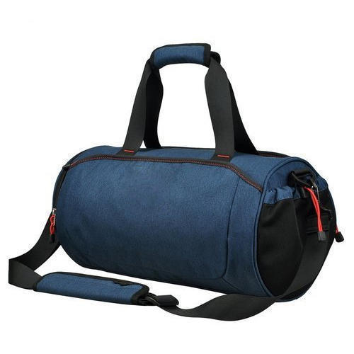 965fb2c755ca Wombat Mens Blue Sports Bag