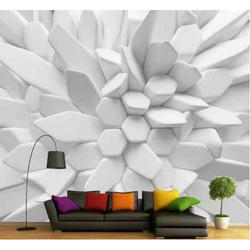Pvc 3d Printed Wallpaper Thickness 1 5 Mm Rs 50 Square Feet