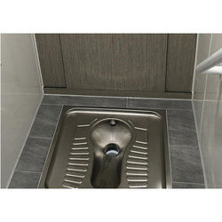 Stainless Steel Indian Toilet Pan