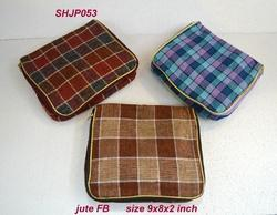 Jewellery Pouch Jute FB
