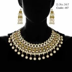 Designer Stone Necklace Set