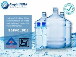 ISI Mark Certification for Packaged Drinking Water