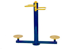 Standing Seating Twister For Outdoor Gym