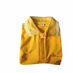 Cotton Summer School Collar T Shirt, 36-40