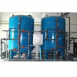 PLC Based Water Softening Plant