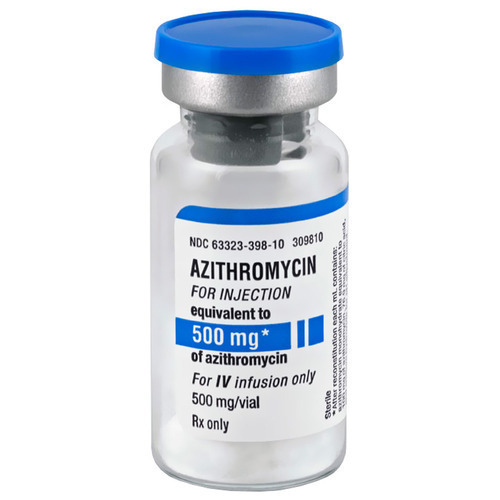 500mg/Vial Azithromycin Injection, Packaging Type: Glass Bottle, Rs 110  /piece | ID: 19020010473