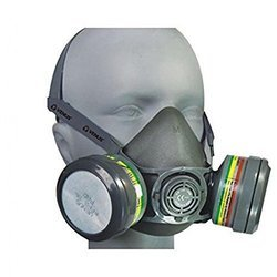 V-7800 Cartage Nose Safety Face Mask With 2 Piece