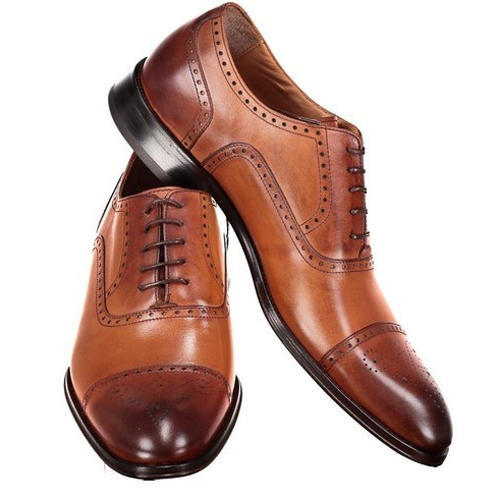 3cf724667791 Mens Brown Leather Formal Shoes