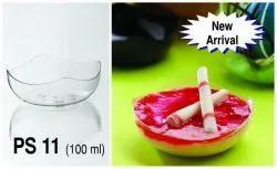 100 ML Plastic Dessert Bowl