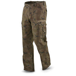 Printed Mens Cargo Jeans