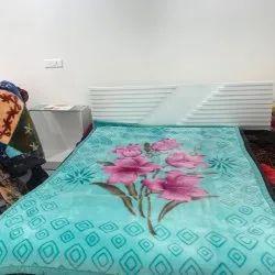 Single Bed Printed Blanket