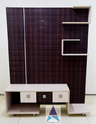 Akash Brown Wave Lcd Unit, For Home