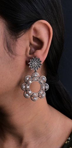 Beautiful Oxidized Earrings